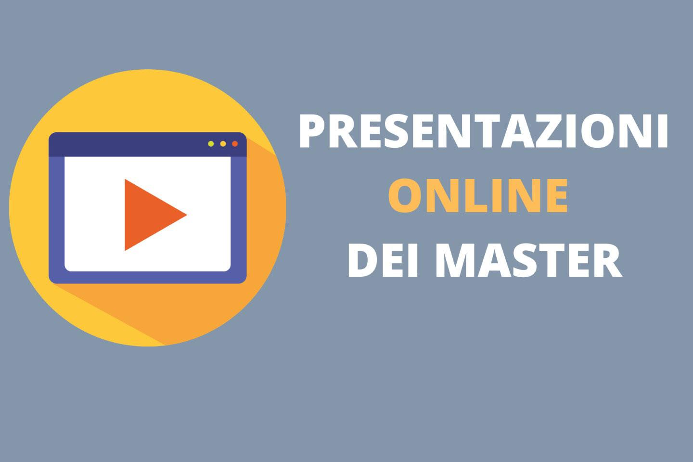 presentazioni dei corsi master online